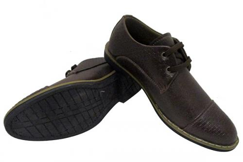 Dark Brown Formal Shoes - (SB-0118)