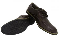 Dark Brown Formal Shoes - (SB-0121)