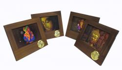 Decorative Photo Frame With Watch - (ARCH-005)