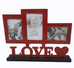 Deep Red Love Photo Frame - (ARCH-004)