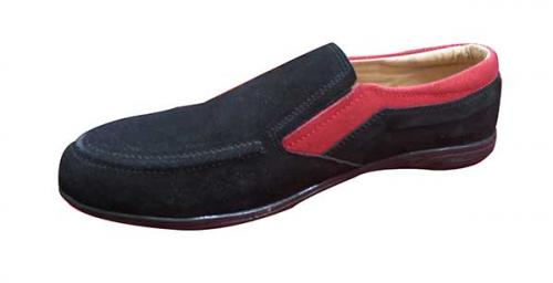 Black And Red Soft Shoes (TK-0017)