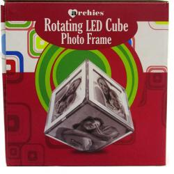 Elegant Photo Frame Rotating Led Cube - (ARCH-289)