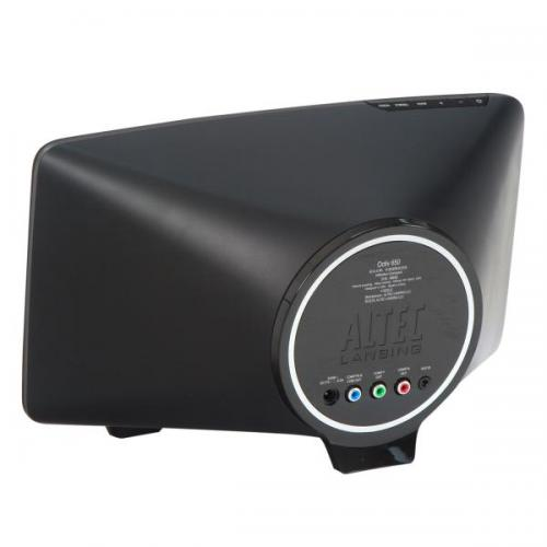 Altec Lansing 2.1 docking speaker with down-firing subwoofer