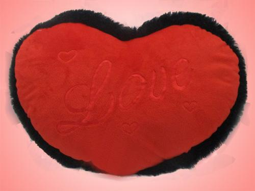 Gifts World Cute Love Heart Soft Cushion - (ARCH-235)