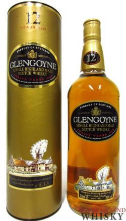Glengoyne - Single Highland Malt Scotch 12 year old (700ml)