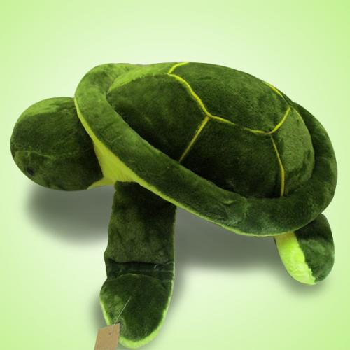 Green Tortoise Polyester Soft Toy - (ARCH-267)