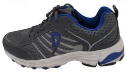 Grey & Blue Sports Shoes - (SB-0131)