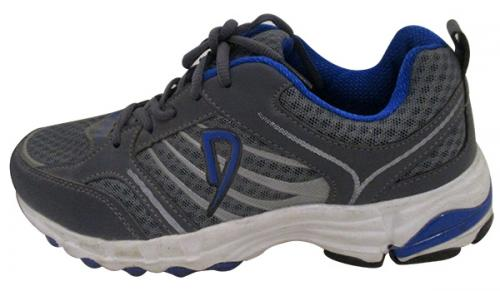 Grey & Blue Sports Shoes - (SB-0131)