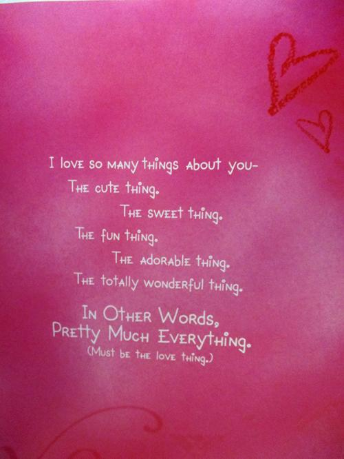 I Am So In Love With You Card - (ARCH-459)