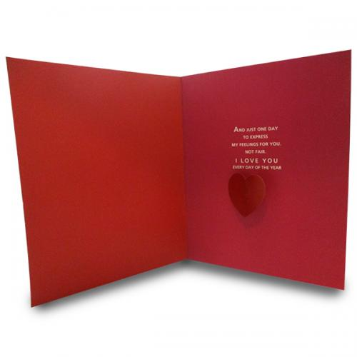 I Love U Greeting Card - (ARCH-461)
