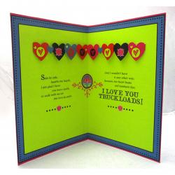 I Love U Truck Loads Card - (ARCH-473)