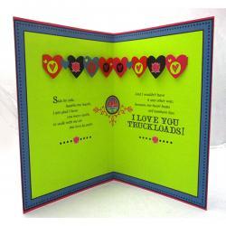 I Love U Truck Loads Card - (ARCH-473)