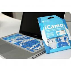 Icamo MBP Keyboard Protector Blue - (AIP-189)