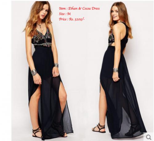 Ethan & Cocoa Long Dress