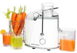 Black & Decker JE400 - Juice Extractor - 2 Speed - 400W - White