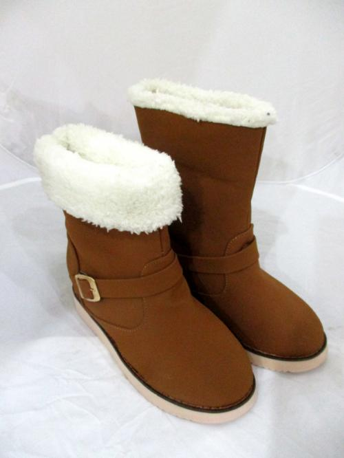 Women's Fashion Snow Boots/Winter Boots Mid-Calf Fur