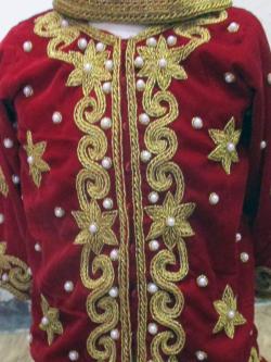 Red Pashni Wear - (JU-017)