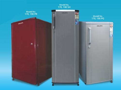 Colors Single Door Refrigerator (190PG) - 190Ltr