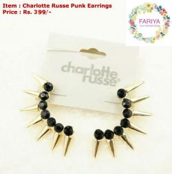 Charlotte Russe Punk Earring