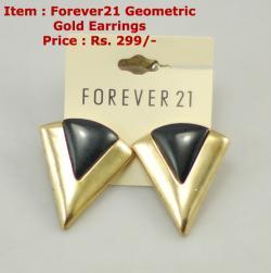Forever21 Geometric Earring