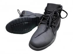 Nubuck Leather Stylish Grey Color Boot (TK-844)