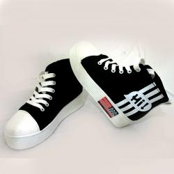 Dark Black Double Soul Converse
