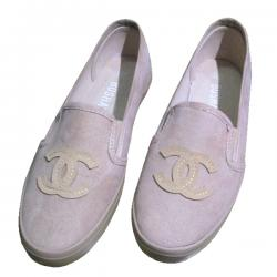 Ladies' Light Pink Loafer Shoes