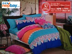 Pure Korean Cotton Bedsheet - (PK-205)