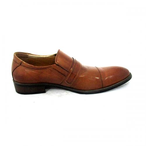 Men's Dark Brown Party Shoes