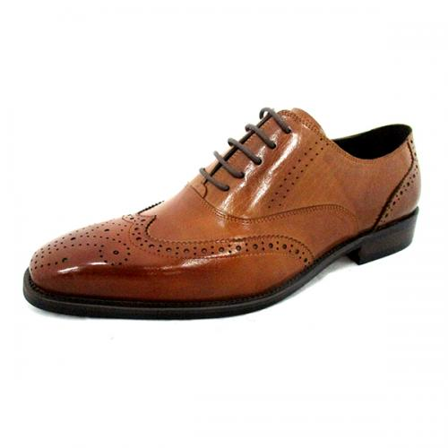 Men's Yellowish Brown Party Shoes