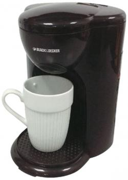 Black & Decker Coffee Maker / Grinder (DCM25-B5) - 1Cup