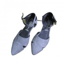 Ladies' Gray Pump Shoes