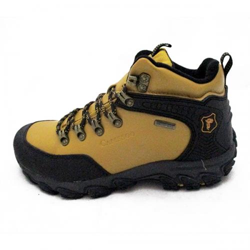 Brand Camssoo Outdoor Waterproof Hiking Shoes Genuine Leather Thermal Trekking Shoes Man/Women Sport Shoes Size 40-44
