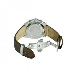 Tissot Leather Belt Chronograph Watch For Men - (NW-004)