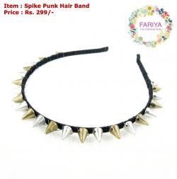 Spike Punk Hair Band
