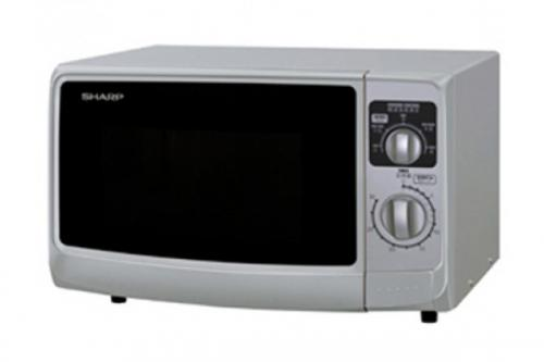 Sharp Light up Dial Microwave Oven R-229T (S) - 22Ltr