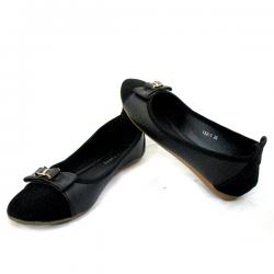 Ladies Black Ballerinas Shoes
