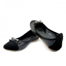 Ladies Formal Black Belly Shoes