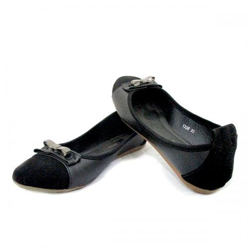 Ladies Formal Black Belly Shoes