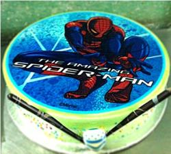 Spiderman Sticker Cake (2 Pound)