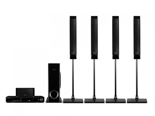 Full Tall Boy 5.1 Channel DVD Home Theater System (HT-CN9900DVW)