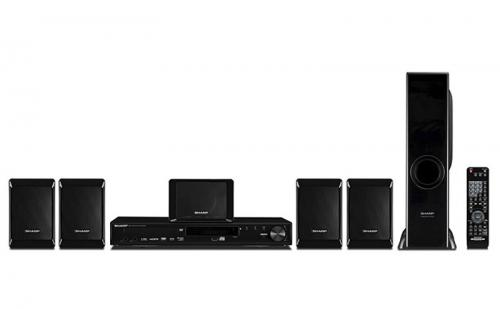 Sharp 5.1 Channel DVD Home Theater System (HT-CN4900DVW)