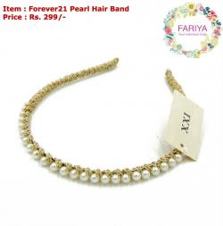 Forever21 Pearl Hair Band