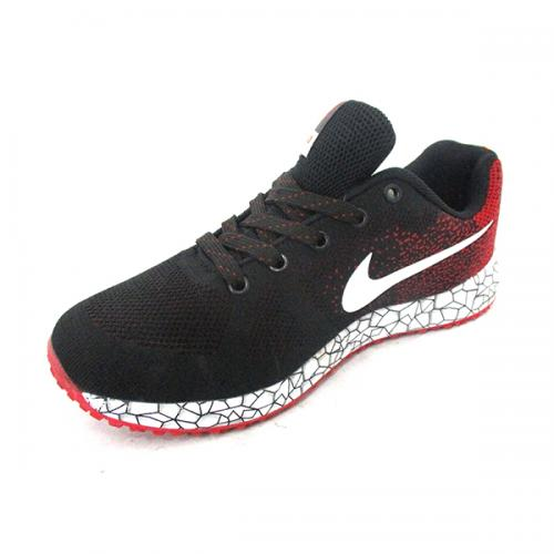 Black & Red Nike Sports Shoes