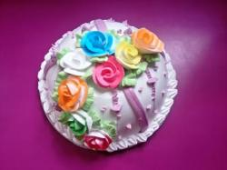 Colourful Rose Flower Deco (2 Pound)
