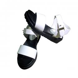 Ladies' Black & White Shoes