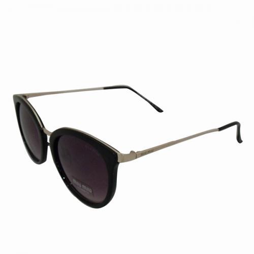 Miu Miu Cat Eye Black Shaded Sunglasses - (MIU-0003)