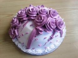 Purple Rose Flower Deco (2 Pound)
