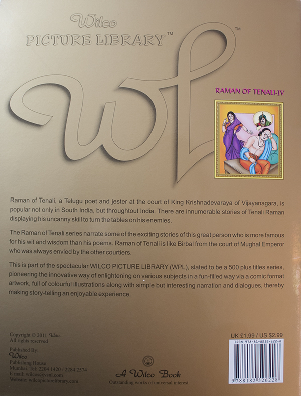 Raman Of Tenali IV by BookLand, Nepal - Online Shopping by NepBay