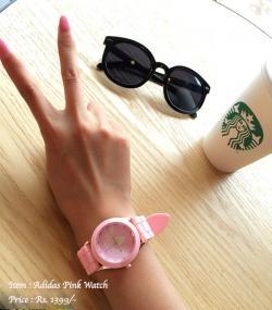 Adidas Pink Watch